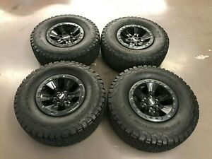 17 Ford F 150 Raptor Oem Factory Bead Lock Wheels And Tires Hl3v1a145ad