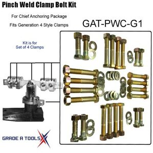 Chief Pinch Weld Clamp Bolt Service Kit Generation 1