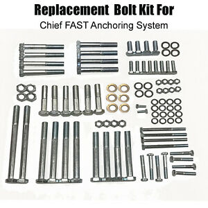 Replacement Chief Anchoring Bolt Kit For The Fast System