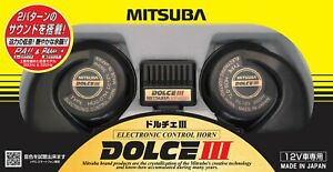 Mitsuba Dolce Iii Car Electronic Horn Super Bass Sound Hos 07b Dolce3 Japan F s