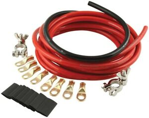Battery Cable Kit 2 Gauge Quickcar Racing Products 57 010