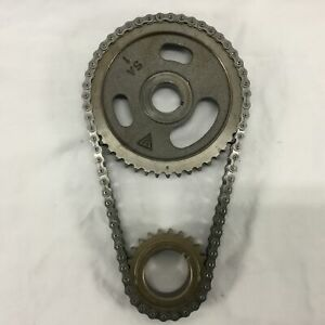 Chrysler Dodge Plymouth V8 Double Roller Timing Chain Set 273 318 340 360 3028