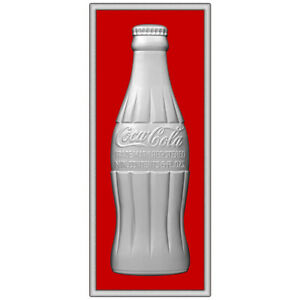Coca-Cola Bottle Framed Look Decal 10 x 24 1930s Style Coke Kitchen
