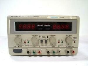 Tektronix Ps280 Dc Power Supply 30v 2a Tested And Works Good ch
