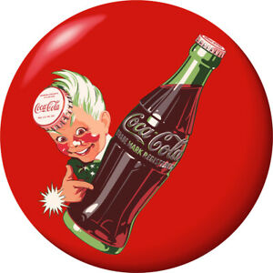 Sprite Boy Coca-Cola Disc Red Decal 24 x 24 Removable Decor Graphic