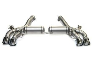 Remus Axleback Exhaust For Bmw F90 M5 Bimmerfest Display Sale Chrome Tips