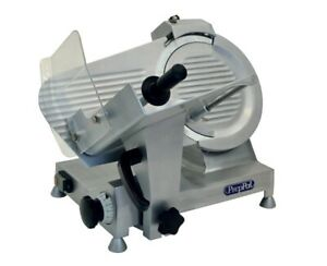 New 10 Meat Cheese Deli Slicer Alloy Electric 1 4hp Nsf Atosa Ppsl 10 2367