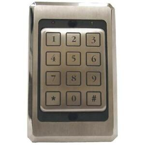 Bosch Security D8229 Access Pin Keypad Stainless Steel 26bit Wiegand Security