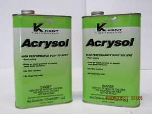 Acrysol Tire Cleaner 2 quarts Great For Go Kart Racing Tire Prep