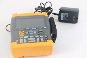 Fluke 199c Scopemeter Color Handheld Oscilloscope 200mhz 2 5gs s