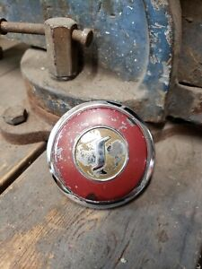 Nice Original 1947 1948 Studebaker Steering Wheel Center Horn Button Cap Emblem