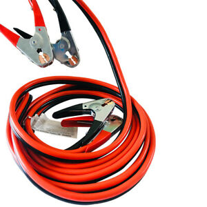 12 Ft 4 Gauge Heavy Duty Power Booster Cable Emergency Car Battery Jumper