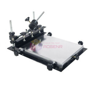 440x320mm Manual Solder Paste Printer pcb Smt Stencil Printer T shirt Printing