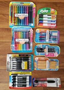 School Supplies Sharpie expo Markers Papermate Inkjoy Pens Mechanical Pencils