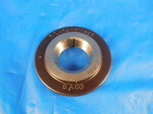 1 2 14 Nptf L1 Pipe Thread Ring Gage 5 N p t f L 1 50 500 Dryseal Inspection