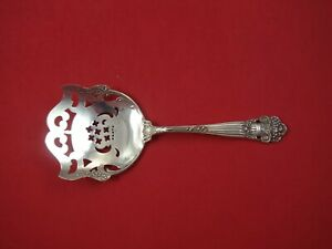 Georgian By Towle Sterling Silver Cucumber Server Pierced 6 Vintage Rare