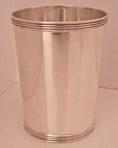 Sterling Silver Frank M Whiting Old Kentucky Mint Julep Cup Full Size No Mono