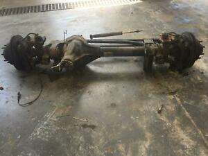 2006 Ford F350sd Pickup Front Axle Assembly Srw 3 73 Ratio 06 07