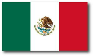 Mexico Flag Mexican Decal Sticker Made Usa Car Truck Window 3m Vinyl Laptop Yeti
