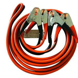 12 20 25 Ft Heavy Duty Booster Cable Emergency Car Battery Jumper 2 4 6 Gauge