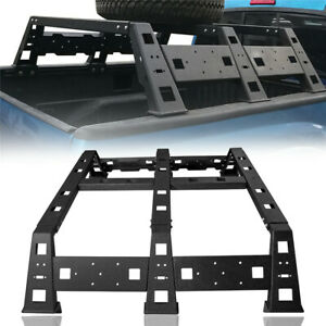 High Bed Rack Top Luggage Carriers Baggage Holders Steel For Toyota Tacoma 05 20