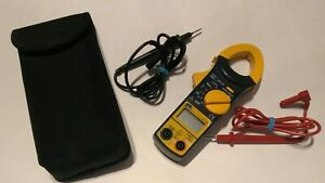 Ideal Digital 400 Amp Clamp Meter 61 734 With Case