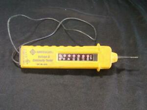 Greenlee Voltage Continuity Tester Model 6701