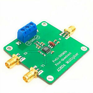 Ad834 Rf Multiplier Mixer 0 1 To 500mhz