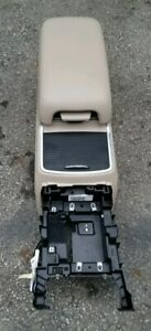 2011 2017 Dodge Charger Tan Floor Center Console W cup Holder 12v Charger Usb Po