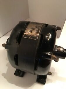 Rare Antique Sprague Electric Works Of General Electric Co 1 8 Hp Ac Motor