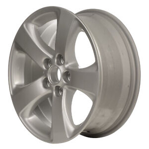 69584 Refinished Toyota Sienna 2011 2018 17 Inch Wheel Rim Silver Painted