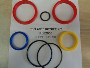 K662050 Aftermarket Seal Kit For Koyker 3 Bore And 1 3 4 Rod Cylinder