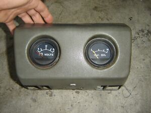 1981 Toyota Pickup Hilux Truck Gauges Under Dash Oil Pressure Volt Meter Oem
