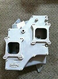 Mopar Edelbrock 383 400 Str Crossram Intake Cuda challenger Only One On Ebay