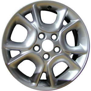 69445 Refinished Toyota Sienna 2004 2007 17 Inch Wheel Rim All Silver Painted