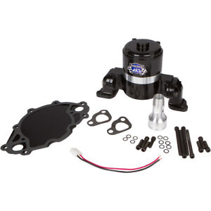 Small Block Ford 289 302 351w Electric Water Pump Black High Volume Flow Sbf