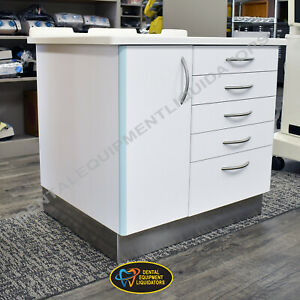 Dental Medical Office Cabinet Offers Lots Of Storage With Soft Close Technology