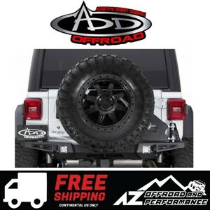 Add Stealth Fighter Tire Carrier For 18 19 Jeep Wrangler Jl Unlimited Jlu