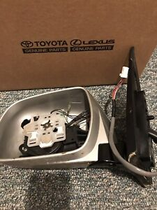 Lexus Rx 330 350 400h Left Side Mirror No Glass Used Oem