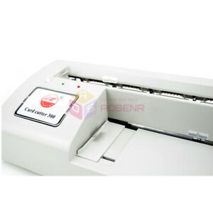 Automatic Name Card Cutter Card Slitter Business Card Cutting Slitting Machine