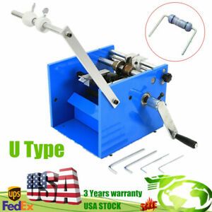 U Type Resistor Axial Lead Bend Cut Form Machine Best Price Fast Shipping Usa