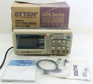 Digital Color Oscilloscope With 100 Mhz Bandwidth Storage Atten Ads1102cal
