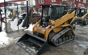 Cat 257b Rubber Tracked Skidsteer Bobcat Skid Steer Loader Caterpillar