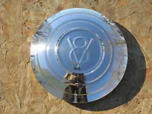 1932 Ford V8 Stainless Wire Wheel Hubcaps Set Of 4 Brand New