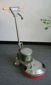 Clean 17 High Speed Floor Buffer By American Lincoln Used