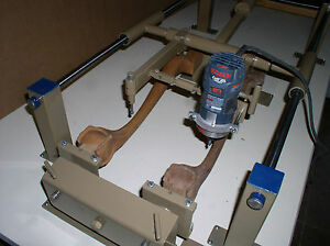 carving Duplicator Model One b Set Up For Large Router