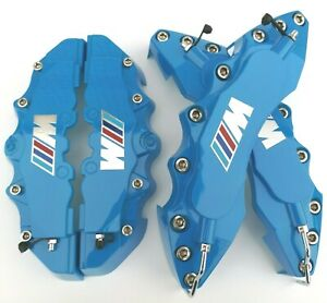 Engineering Plastic Blue M Performance Brake Caliper Covers 11 F 9 R For Bmw 3