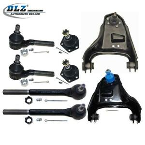 8pcs Suspension Control Arms Ball Joints Kit For Chevrolet S10 4wd 4x4 1984 1996