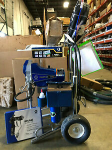 Graco Finishpro Ii 395 Pc Air assisted Airless Sprayer 17c417 New Gun And Hose