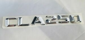 Cla250 Fit Mercedes Rear Trunk Nameplate Badge Emblem Numbers Letters Name